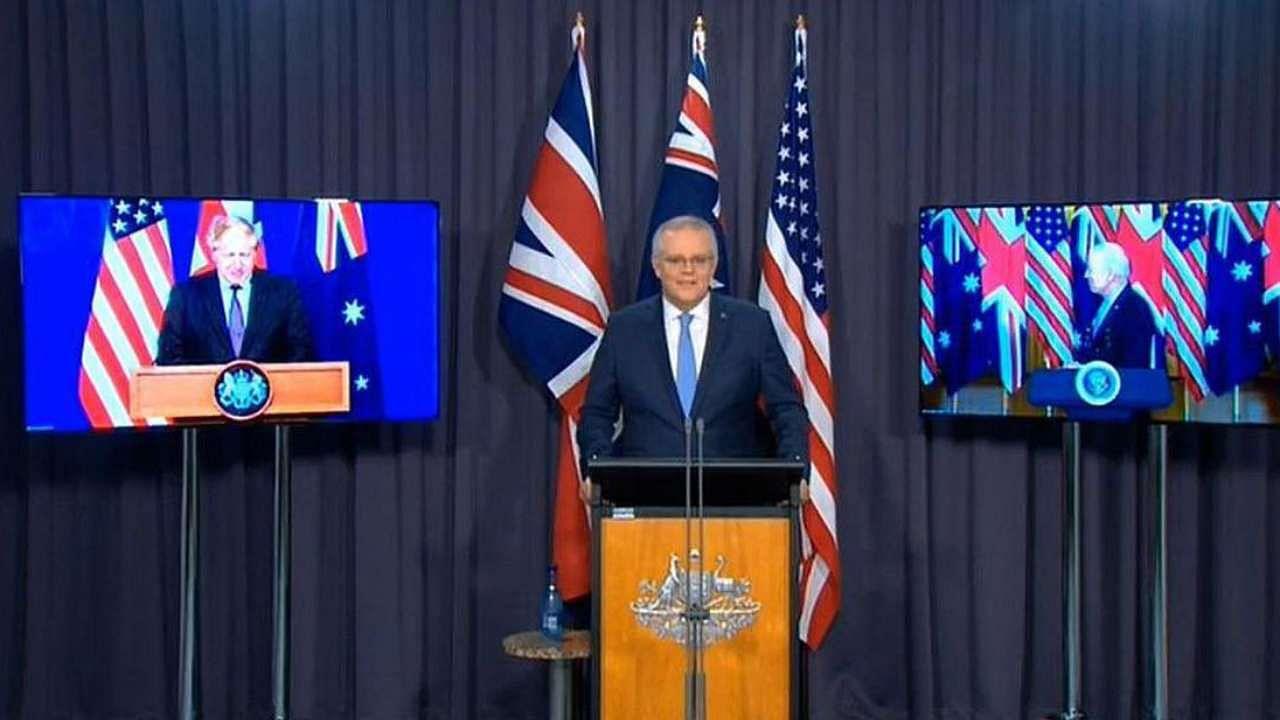 AUKUS: UN ने दी ऑस्ट्रेलिया-फ्रांस को सलाह, पनडुब्बी विवाद की जगह बड़ों मुद्दों को दें तरजीह