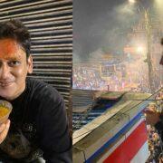 शूटिंग के लिए वाराणसी पहुंचे अभिनेता Vijay Verma, दर्शन के साथ उठा रहे हैं लजीज जायकों का लुत्फ