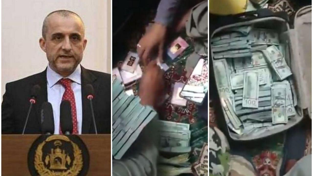 Afghanistan: अमरुल्लाह सालेह के घर में घुसे तालिबानी, 48 करोड़ रुपये और सोने की ईंटें मिलने का दावा, यहां देखें Video