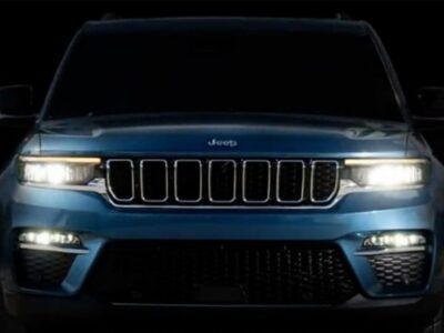 नजर आया All-New 2022 Jeep Grand Cherokee का टीजर, 29 सितंबर को डेब्यू करेगी कार