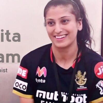 कनाडा की रहने वाले नवनीता गौतम टोरंटो नेशनल ग्लोबल टी20 कनाडा लीग में काम कर चुकी है. वही दूसरी ओर भारतीय महिला बास्केटबाल टीम के साथ एशिया कप के दौरान साथ में थी. इसके बाद उन्हें आरसीबी में शामिल किया गया.