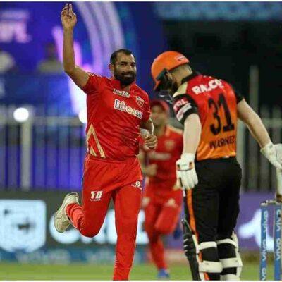 IPL 2021: वॉर्नर और विलियमसन को आउट कर शमी ने बनाया शानदार रिकॉर्ड, ऐसा करने वाले बने पहले गेंदबाज
