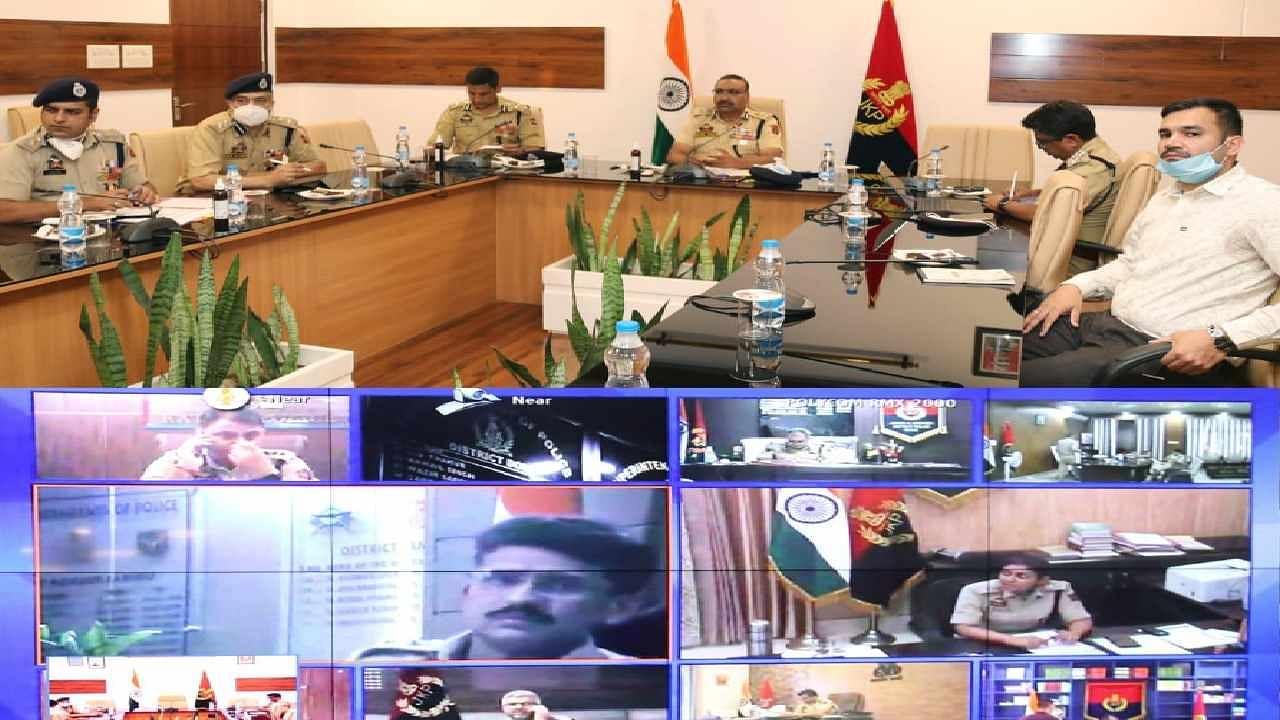 जम्मू-कश्मीरः DGP दिलबाग सिंह ने की हाई लेवल बैठक, सुरक्षा मामलों को लेकर किया गहन मंथन