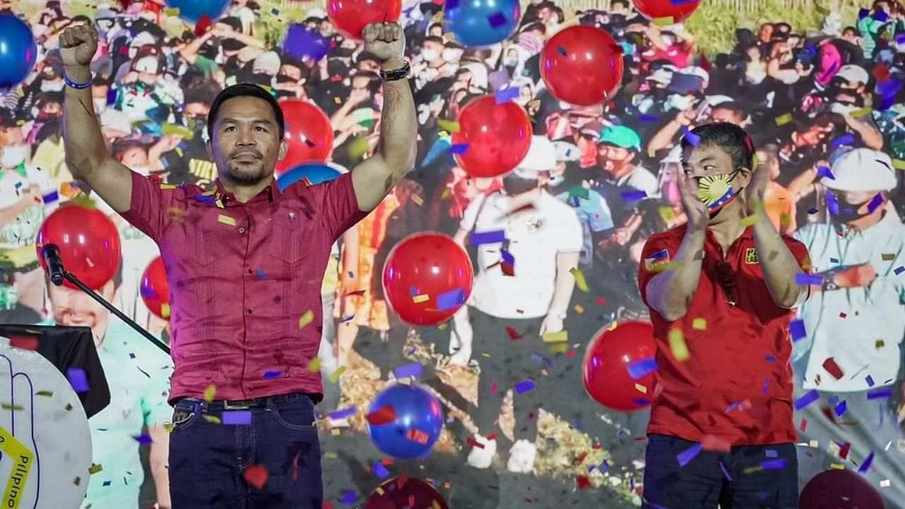 दिग्गज बॉक्सर मैनी पैकियाओ बनेंगे फिलीपींस के राष्ट्रपति! 8 बार के वर्ल्ड चैंपियन ने किया चुनाव लड़ने का ऐलान