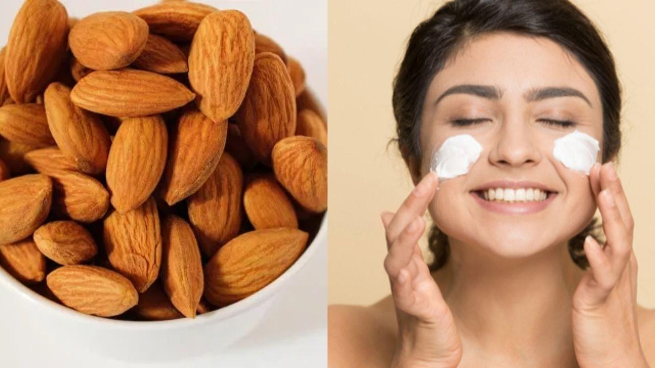 Skin Care : दमकती निखरी त्वचा पाने के लिए इस्तेमाल करें बादाम, जानिए ढेरों फायदे