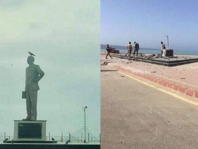 पाकिस्तान के संस्थापक मोहम्मद अली जिन्ना की मूर्ति को बम से उड़ाया! ग्वादर में बिखरे हुए टुकड़ों में मिली प्रतिमा