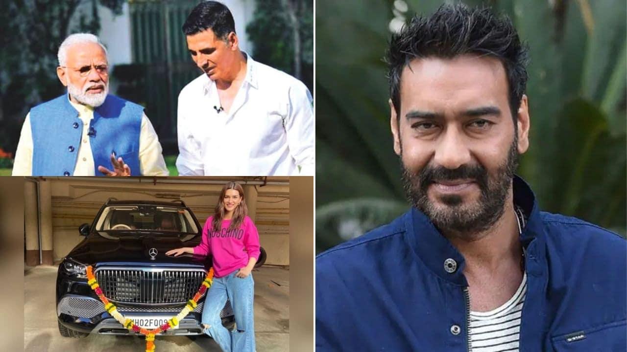 Top 5 News : अक्षय कुमार की मां के निधन के बाद पीएम मोदी ने भेजा लेटर, जंगल में अजय देवगन दिखाएंगे एक्शन, पढ़ें- मनोरंजन की खबरें