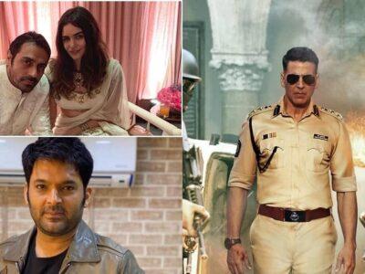 Top 5 News : अर्जुन रामपाल की गर्लफ्रेंड के भाई को NCB ने किया गिरफ्तार, दिवाली पर रिलीज होगी 'सूर्यवंशी', पढ़ें- मनोरंजन की खबरें