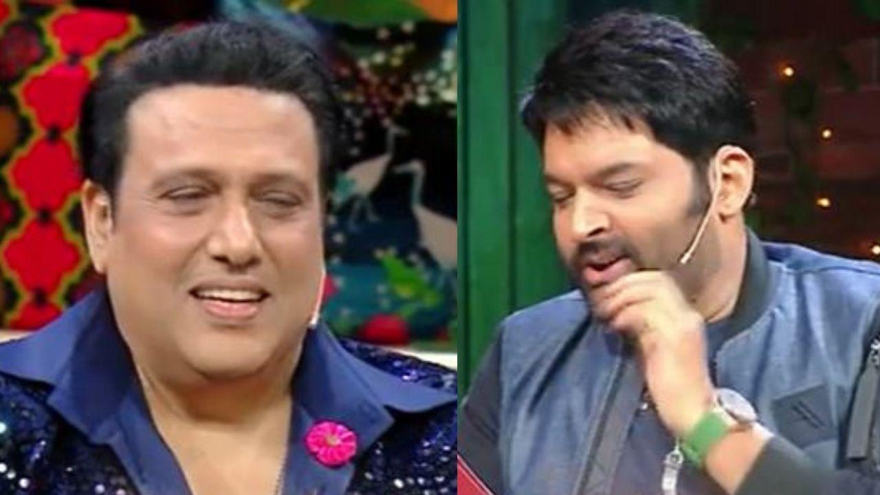 Video : कपिल शर्मा ने गोविंदा से पूछे पत्नी सुनीता से जुड़े कुछ सवाल, एक्टर बोले ''क्यों बैंड बजा रहे हो''