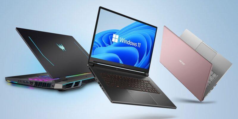 Acer ने भारत में लॉन्च किए Windows 11 पर बेस्ड 6 नए लैपटॉप