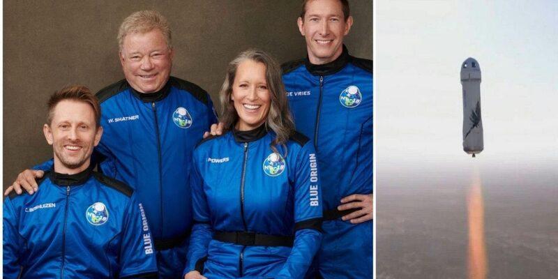 अभिनेता William Shatner ने 90 साल की उम्र में रचा इतिहास, अंतरिक्ष की सैर करने वाले दुनिया के सबसे बुजुर्ग शख्स बने