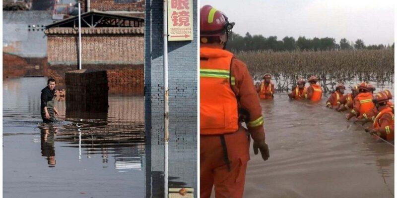 चीन में बिजली संकट के बीच बाढ़ की दोहरी मार, सबसे ज्यादा कोयला बनाने वाले शांक्सी में तबाही, कम से कम 15 लोगों की मौत
