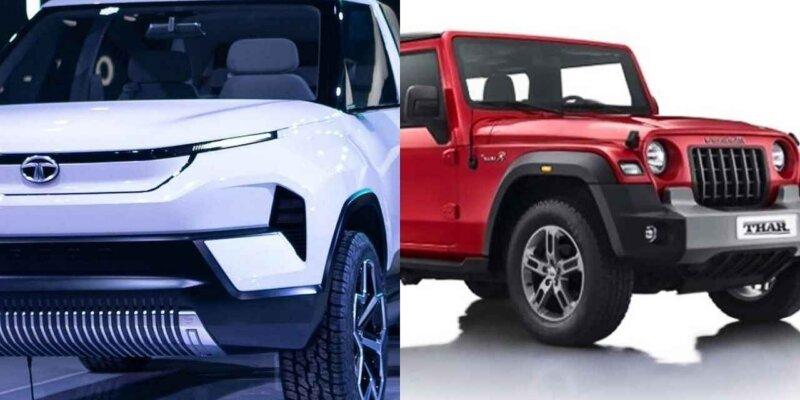 क्या टाटा और थार में देखने को मिल सकता है कॉम्पिटिशन, दोनों कंपनियां ला रही हैं नई नई गाड़ियां