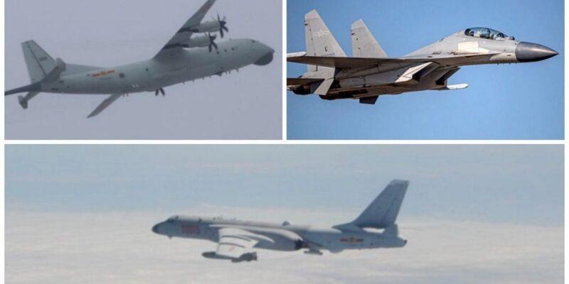 चीन की कायराना हरकत, अपनी सैन्य ताकत का दिखावा करने के लिए ताइवान की तरफ भेजे 25 लड़ाकू विमान