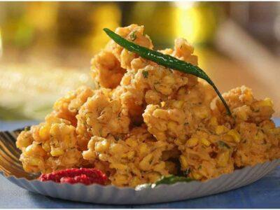 Corn Pakoda Recipe : शाम के नाश्ते में झटपट बनाएं कॉर्न के पकोड़े