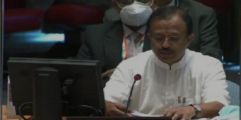 'संघर्ष झेलने वाले देशों को शांति के लिए करना पड़ता है चुनौतियों का सामना', UNSC में बोले विदेश राज्य मंत्री मुरलीधरन