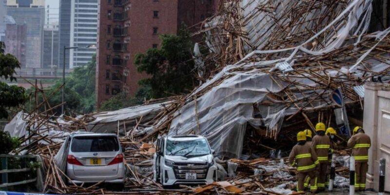 हांगकांग में आया 'चक्रवाती तूफान' लॉयनरॉक, 38 मील प्रति घंटे की रफ्तार से चल रही हवाएं, भूस्खलन और बाढ़ का खतरा बढ़ा