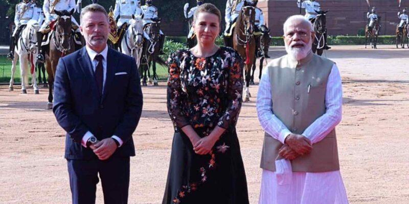 भारत पहुंची डेनमार्क की पीएम मेटे फ्रेडरिकसेन, PM मोदी ने की अगवानी, राष्ट्रपति भवन में हुआ जोरदार स्वागत