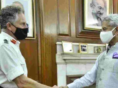 ब्रिटेन के CDS सर निकोलस कार्टर से मिले विदेश मंत्री एस जयशंकर, अफगानिस्तान समेत इन मुद्दों पर की चर्चा