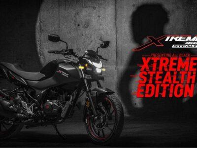 हीरो मोटोकॉर्प ने लॉन्च किया Xtreme 160R Stealth Edition, जानिए कितनी है मोटरसाइकिल की कीमत