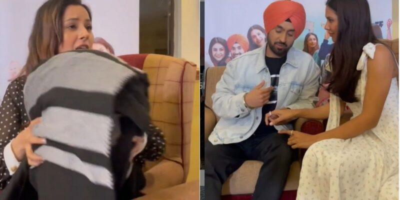 Honsla Rakh : शहनाज गिल ने क्या कर ली है काम पर वापसी? दिलजीत दोसांझ के साथ वीडियो में आईं नजर