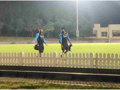IND vs PAK, T20 World Cup 2021: दुबई में धोनी और राहुल से हुई मैच हारने की पेशकश! कैमरे में कैद हुआ पूरा मामला