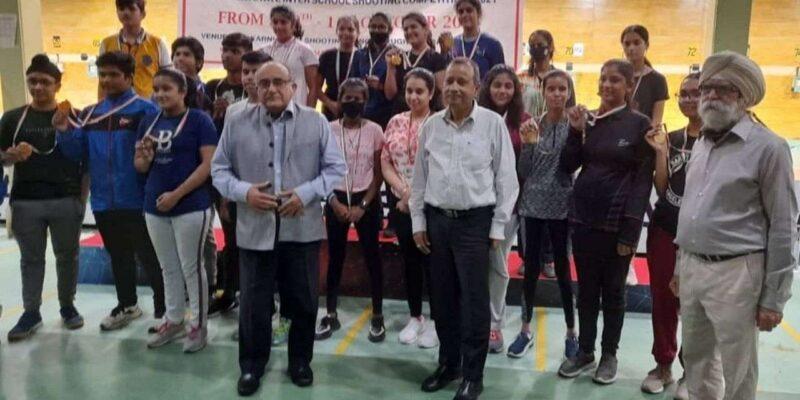 दिल्ली में जूनियर निशानेबाजों ने दिखाया जलवा, रिकॉर्ड एंट्री के साथ इंटर-स्कूल चैंपियनशिप खत्म