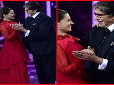 KBC 13 : कृति सेनन संग बॉलरूम डांस करते हुए अमिताभ बच्चन को आई कॉलेज के दिनों की याद, देखिए Photo