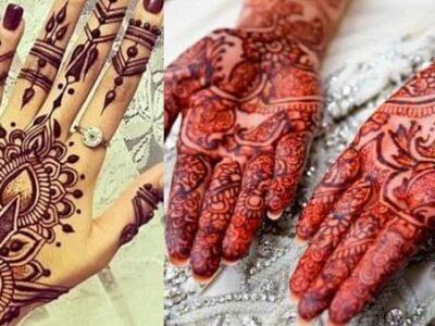 Karwa Chauth 2021 : हाथों पर मेहंदी का गहरा रंग चाहिए तो जरूर फॉलो करें ये स्टेप्स