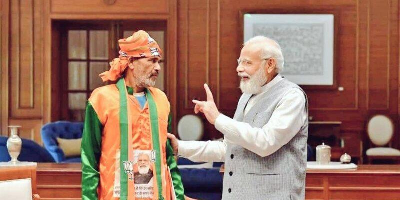 MP: देवरी से 700 किमी पैदल पीएम मोदी से मिलने दिल्ली पहुंचा बीजेपी कार्यकर्ता, 22 दिनों में पूरा हुआ सपना