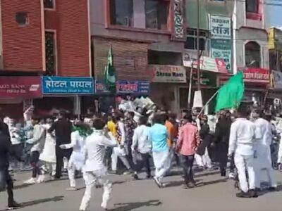MP: प्रतिबंधित क्षेत्र में ईद-ए-मिलादुन्नबी का जुलूस निकालने पर पुलिस ने रोका, लोग नहीं माने तो करना पड़ा लाठीचार्ज