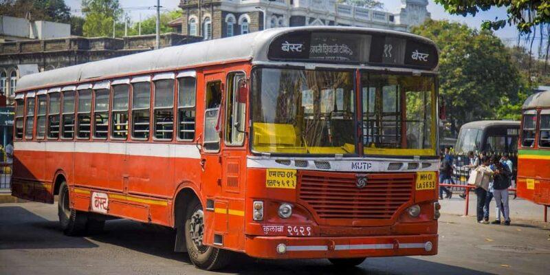 Maharashtra Bandh: मुंबई में बंद का दिखा असर, पथराव की घटना के बाद BEST बस सेवा हुई बंद