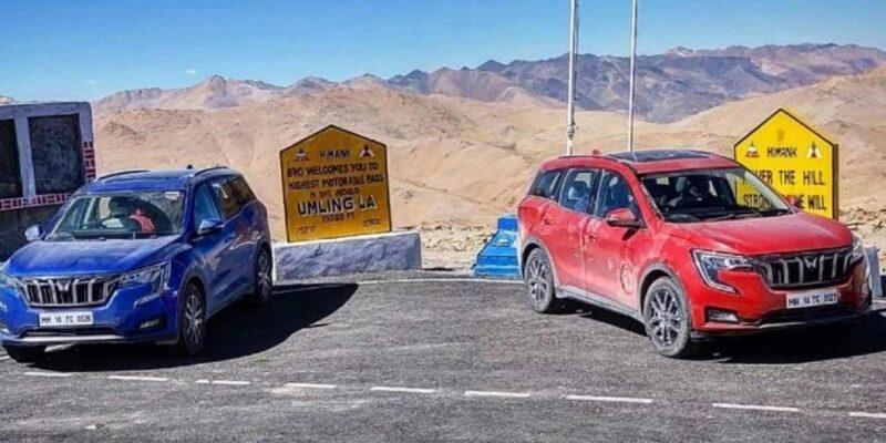 दुनिया के सबसे ऊंचे मोटरेबल रोड पर पहुंची Mahindra XUV700, जानिए सफर के दौरान गाड़ी को किन दिक्कतों का करना पड़ा सामना