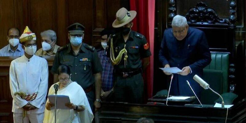 Mamata Oath Taking: सीएम ममता बनर्जी को राज्यपाल ने विधानसभा में दिलाई विधायक पद की शपथ, अनुपस्थित रहे BJP MLA