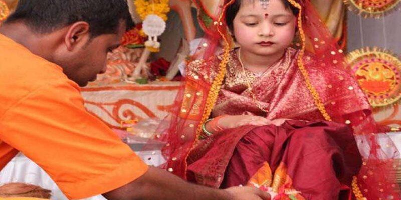 Navratri 2021 : कन्या पूजन के बिना अधूरा है नवरात्रि व्रत, जानिए क्यों कन्याओं के साथ भोज में शामिल होता है बालक