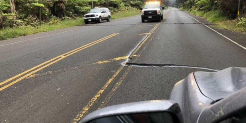 अमेरिका के हवाई में 20 मिनट के अंदर आए भूकंप के दो तगड़े झटकों से सहमे लोग