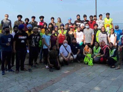 प्रज्ञा कपूर ने उठाया कार्टर बीच क्लीन-अप का जिम्मा, NGOs के साथ मिलकर समंदर किनारे की साफ-सफाई