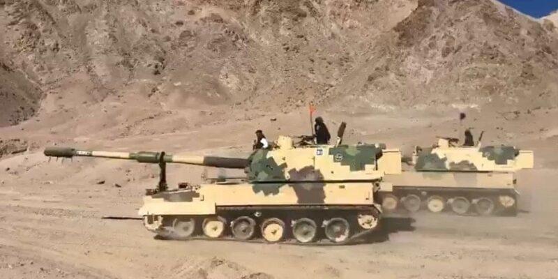 पूर्वी लद्दाख में चीन की बढ़ती चालबाजियों के बीच भारतीय सेना की तैयारी, 14 हजार फीट की ऊंचाई पर दहाड़ रही K-9 वज्र तोप की पूरी रेजिमेंट