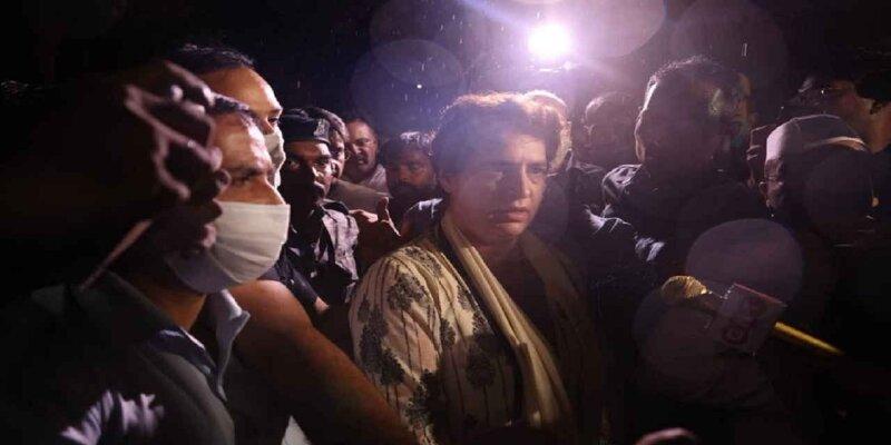 Priyanka Gandhi Arrested: सीतापुर पुलिस ने प्रियंका गांधी को गिरफ्तार किया, शांति भंग और धारा-144 के उल्लंघन का आरोप
