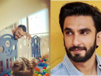 रणवीर सिंह ने विराट- वामिका की फोटो पर किया कमेंट, फैंस बोले- आप कब दे रहे हैं गुड न्यूज