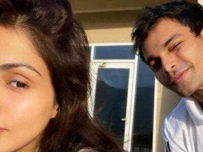 रिया चक्रवर्ती ने भाई शौविक के साथ शेयर की तस्वीर, साथ में टाइम बिताकर भुला रहे हैं जेल की यादें