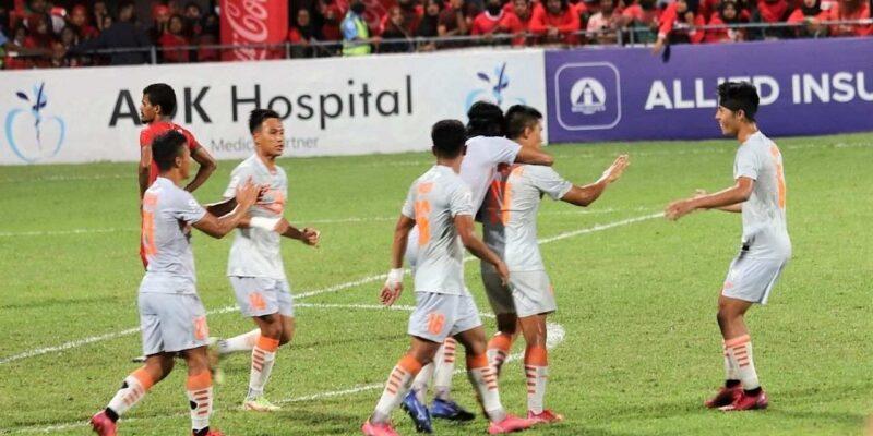 SAFF Championship: सुनील छेत्री ने बचाई भारतीय फुटबॉल टीम की नाक, दो गोल कर पहुंचाया फाइनल में