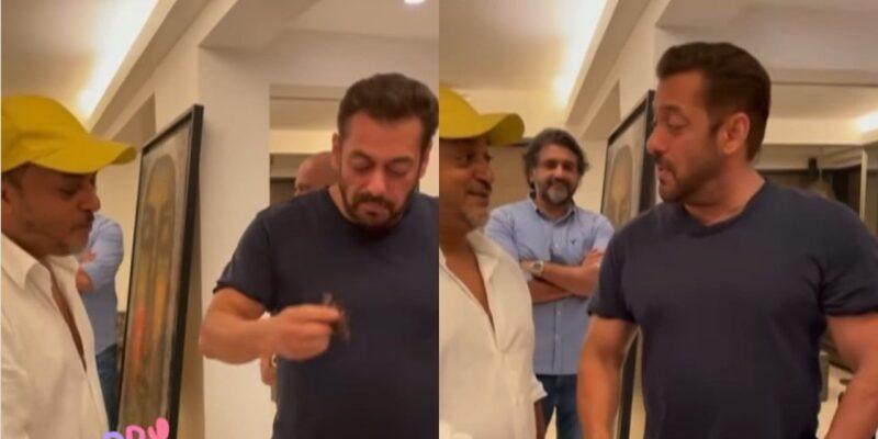 सलमान खान ने साजिद खान के साथ सेलिब्रेट किया दिवंगत वाजिद का बर्थडे, केक काटते हुए वीडियो आया सामने