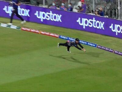 T20 World Cup 2021: डेवॉन कॉनवे ने पकड़ा हैरतअंगेज कैच, गोली की रफ्तार से जा रही गेंद को 'उड़कर' लपका!