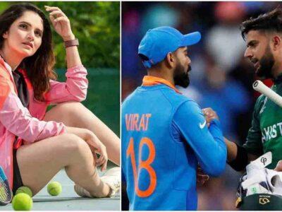 T20 World Cup: भारत-पाकिस्तान मुकाबले के दिन सानिया मिर्जा उठाएंगी बड़ा कदम, ये है बड़ी वजह