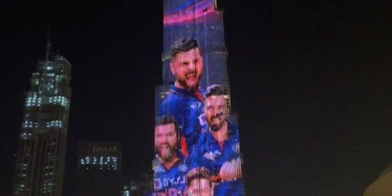 टीम इंडिया का जर्सी लॉन्च बना और भी धमाकेदार, बुर्ज खलीफा पर दिखा भारतीय खिलाड़ियों का जलवा