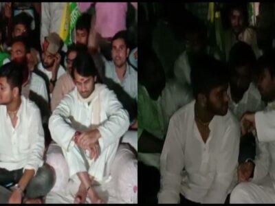 जगदानंद सिंह को RJD से हटाने की मांग पर अड़े तेजप्रताप, लालू यादव के स्वागत के दौरान लगाया बेइज्जत करने का आरोप