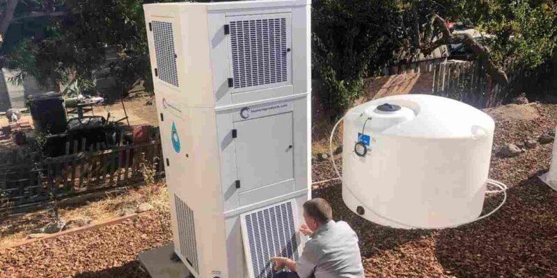 सूखे से बचने के लिए अमेरिका के कैलिफोर्निया में हवा से पानी बना रहे हैं लोग, जानिए इस टेक्निक के बारे में