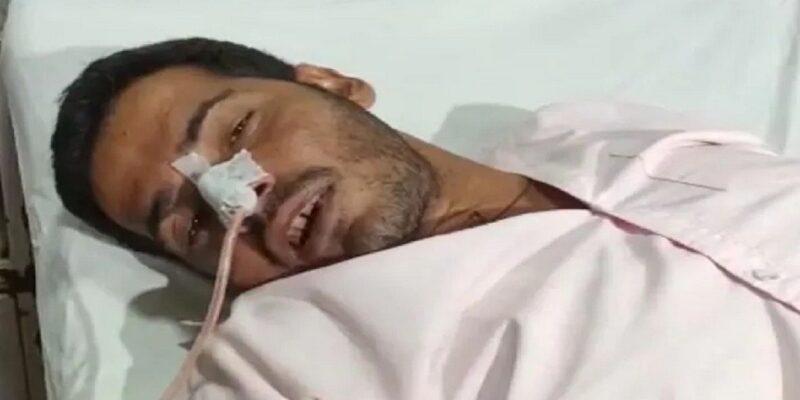 UP : लखनऊ में सीएम आवास के बाहर युवक ने खाया जहर, सपा नेता पर लगाया खेत और जमीन कब्जाने का आरोप