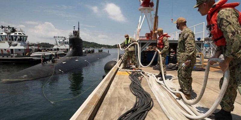 दक्षिण चीन सागर में अज्ञात 'चीज' से टकराई अमेरिका की परमाणु पनडुब्बी, 15 लोग घायल